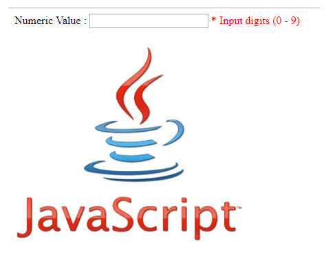 Allow Numeric OR Numbers with dot only using java script