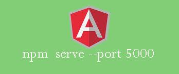 Change Default port in agular 4