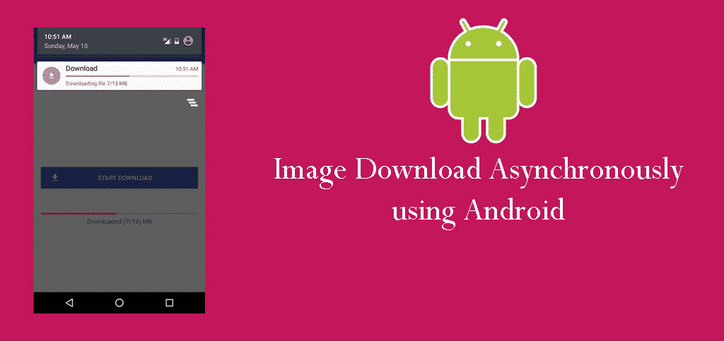 Image Download Asynchronously using Android